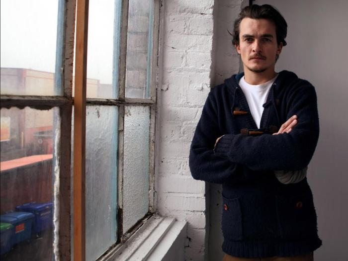 Rupert Friend photographed by DAVID SANDISON
