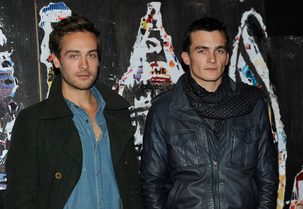 Tom Mison and Rupert Friend attend the 'Steve' short screening during the 54th BFI London Film Festival at the BFI Southbank on October 21, 2010 in London, England.