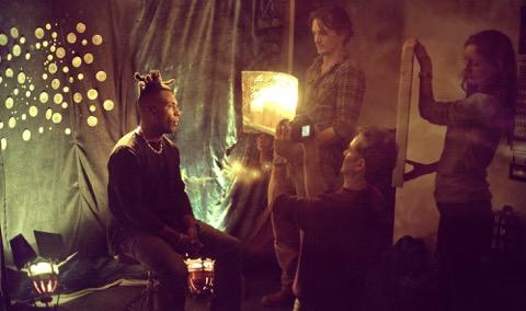 Rupert Friend On set of Omar promo shoot taken by Joanna Natalija