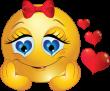 girl-smiley-in-love