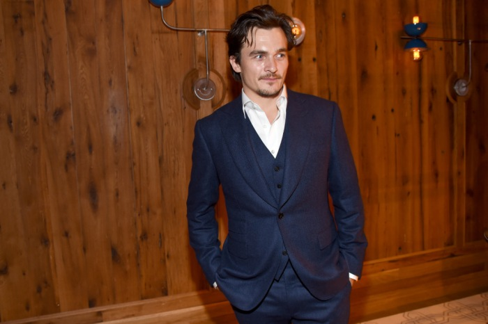Mandatory Credit: Photo by Clint Spaulding/WWD/REX/Shutterstock (6349889cl) Rupert Friend Prada presents The Lunchbox Fund annual fall benefit dinner, New York, USA - 17 Oct 2016